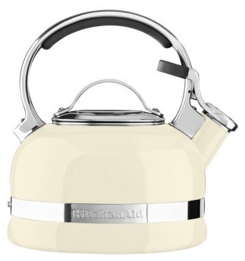Чайник наплитный Kitchenaid кремовый