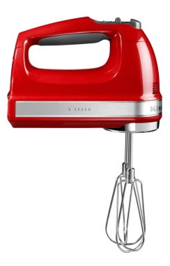 Ручной миксер  Kitchenaid красный