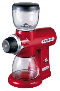 Кофемолка жерновая Kitchenaid красный