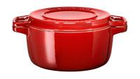 Кастрюля чугунная 5.7 л красный KCPI60CRER
